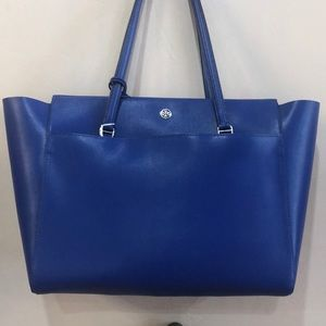 Large cobalt blue tory Burch tote
